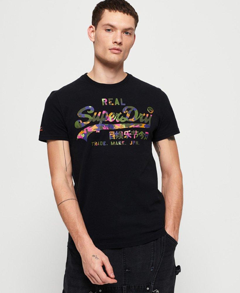 Superdry Vintage Logo Layered Camo T-Shirt thumbnail 1