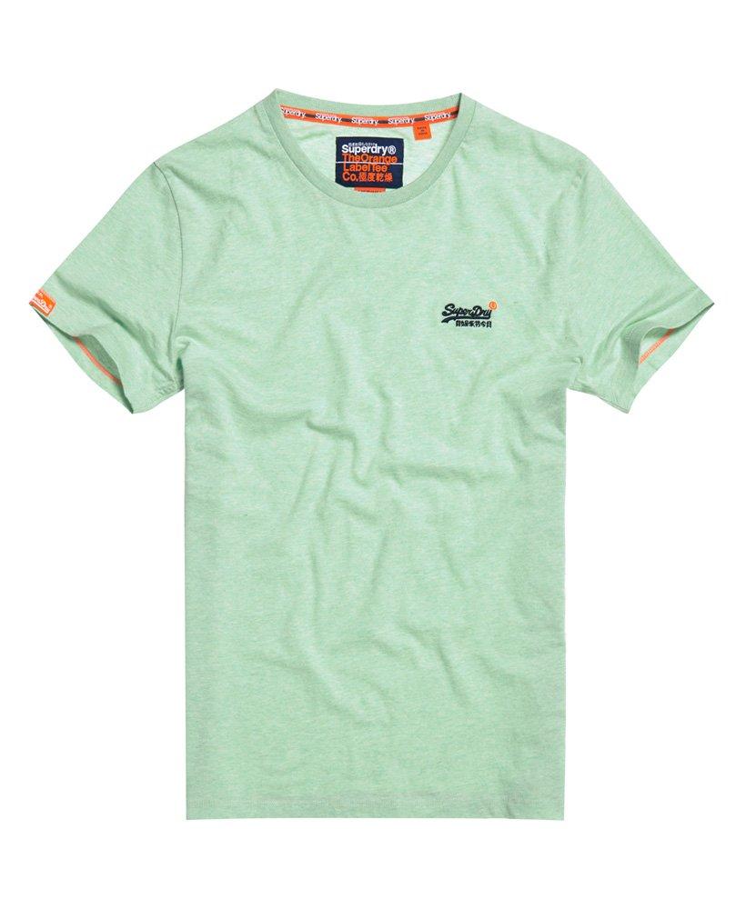 Superdry Orange Label Vintage T-shirt van biologisch katoen