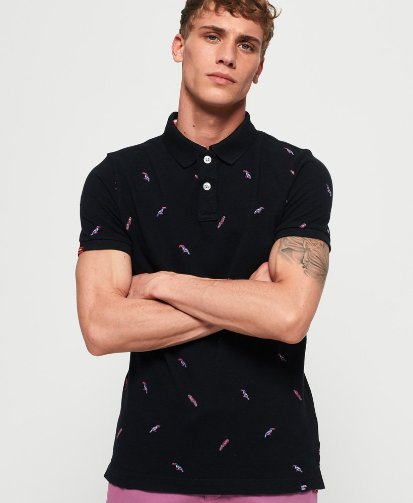 Superdry Bermuda Polo Shirt thumbnail 1