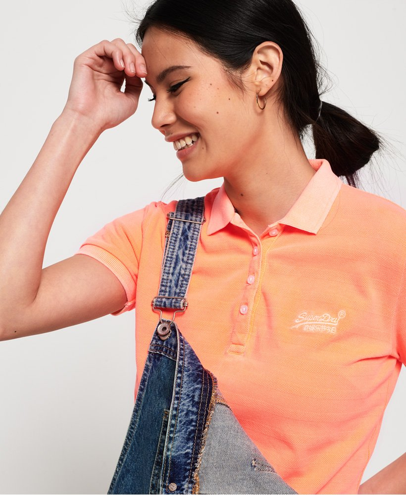 Superdry Cotton Polo Top  thumbnail 1