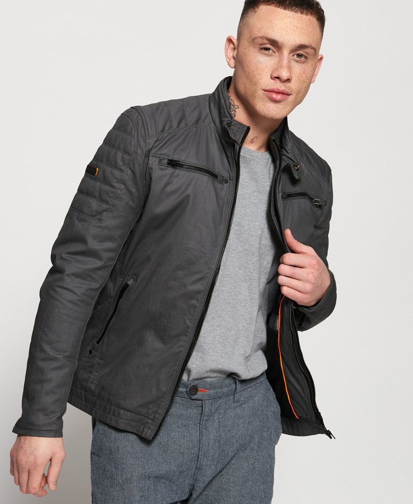 Superdry Carbon Biker Jacket thumbnail 1