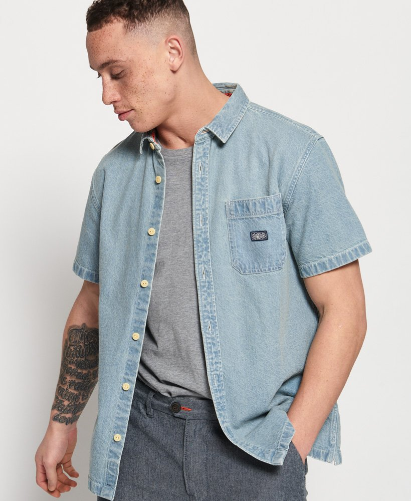 Superdry Union Short Sleeve Shirt thumbnail 1