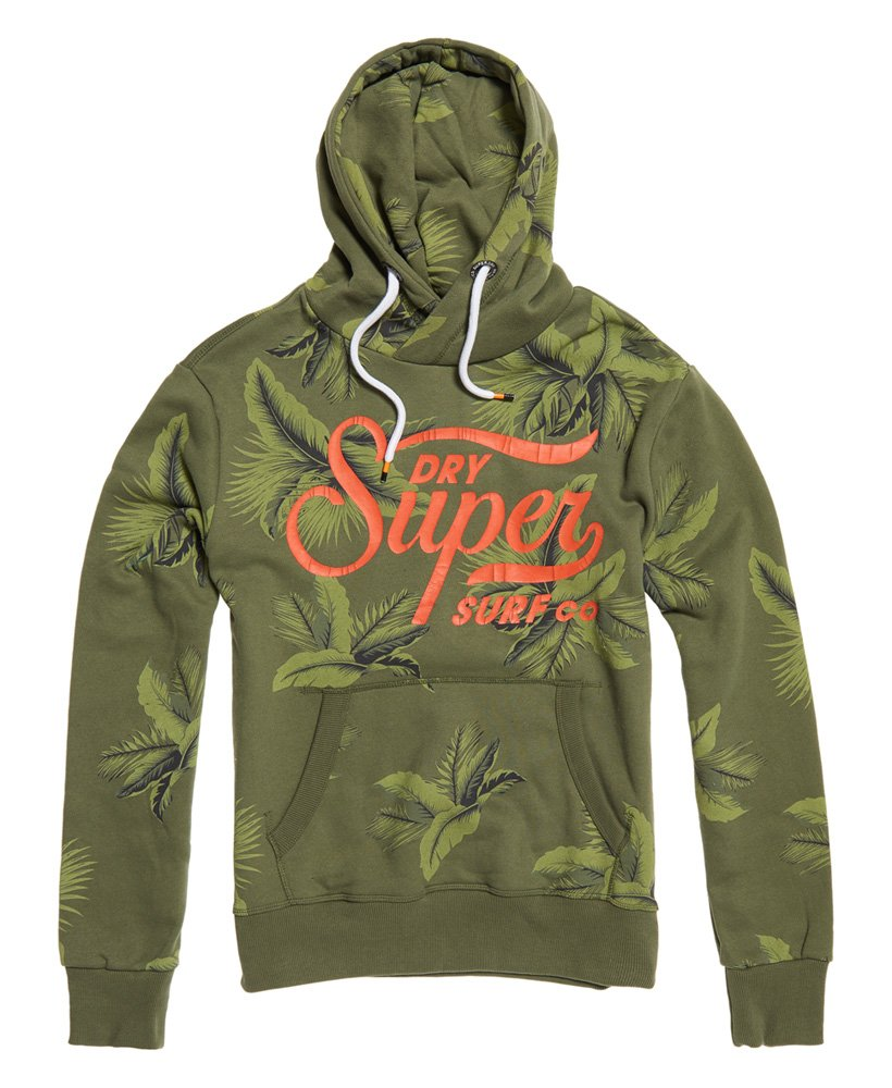 Superdry Super Surf Crossover All Over Print Hoodie thumbnail 1