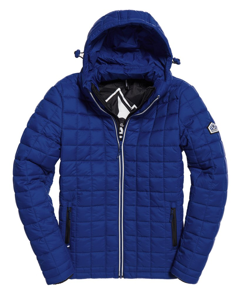 Superdry Hooded Box Quilt Fuji Jacket thumbnail 1