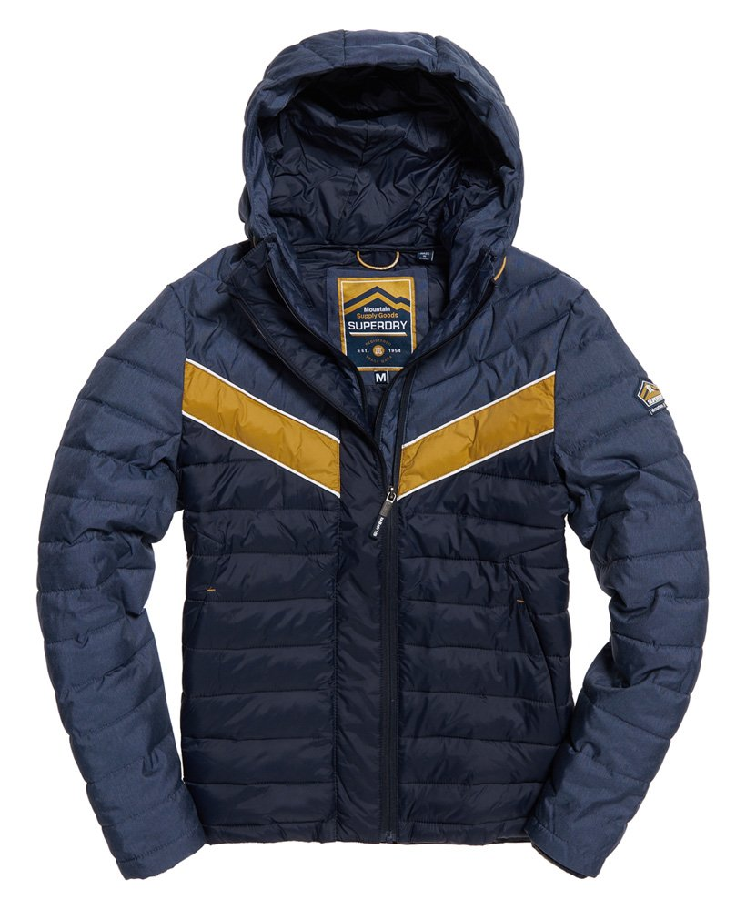Superdry Marl Mix Chevron Fuji Jacket thumbnail 1