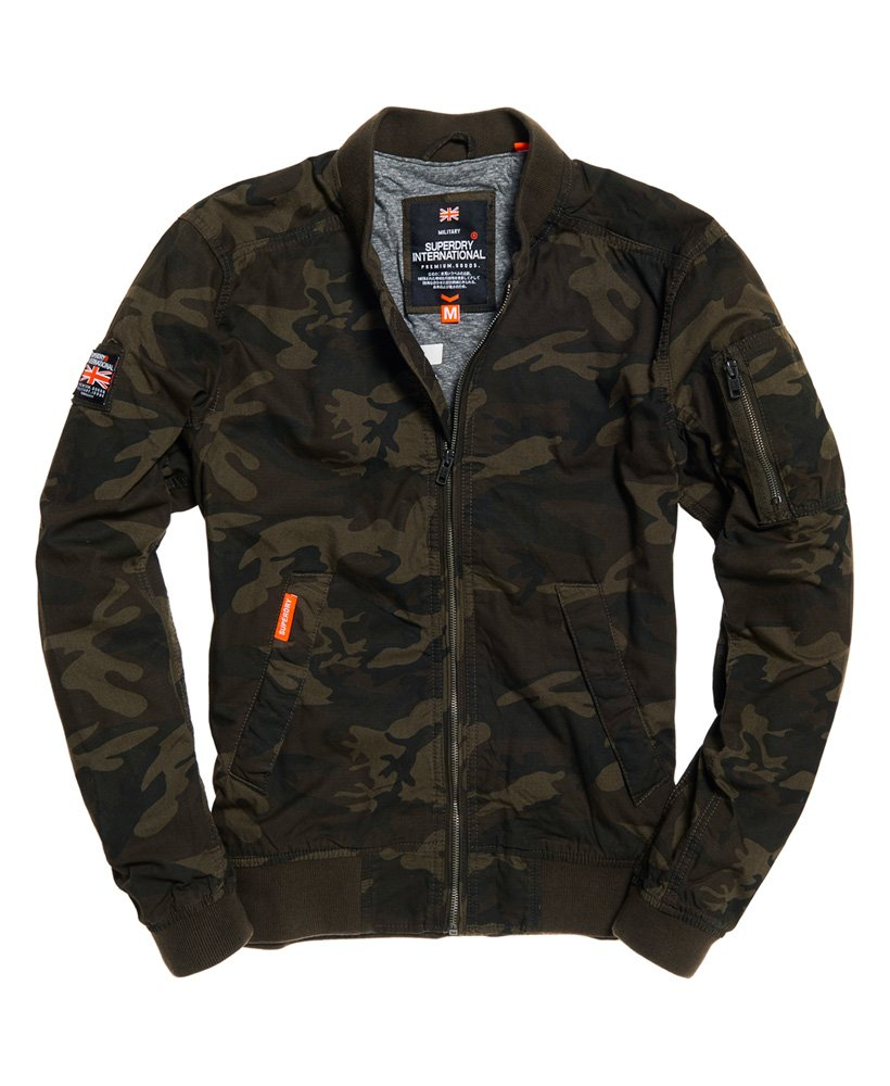 Superdry Rookie Duty Bomber Jacket thumbnail 1