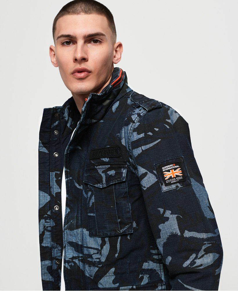 Superdry Indigo Rookie Pocket Jacket thumbnail 1