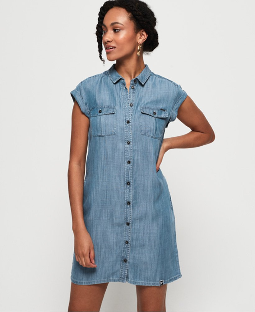 Superdry Nina Shirtdress thumbnail 1