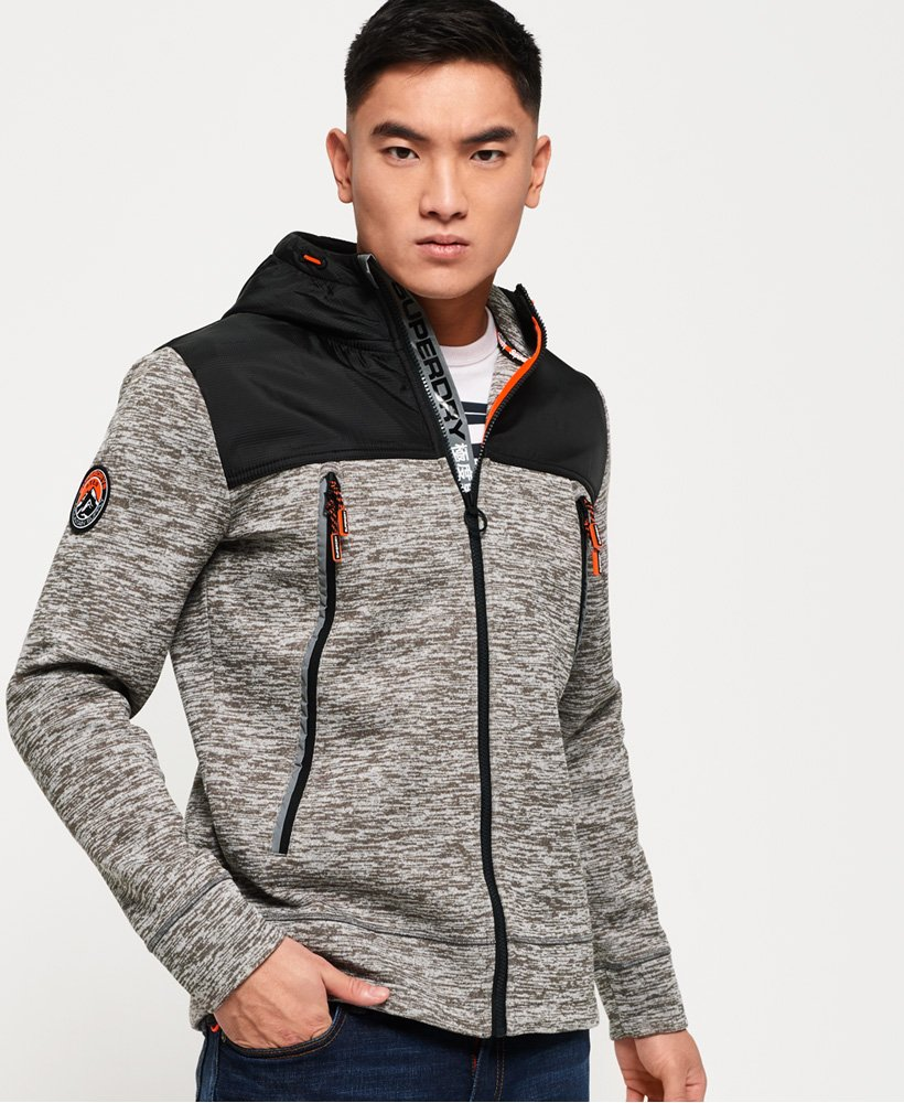 Superdry Gilet à capuche zippé Mountain Tech Sweats à