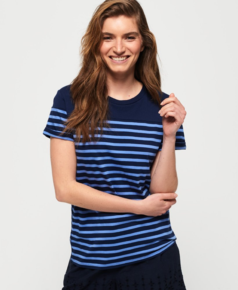 Superdry Pop Breton T-Shirt  thumbnail 1