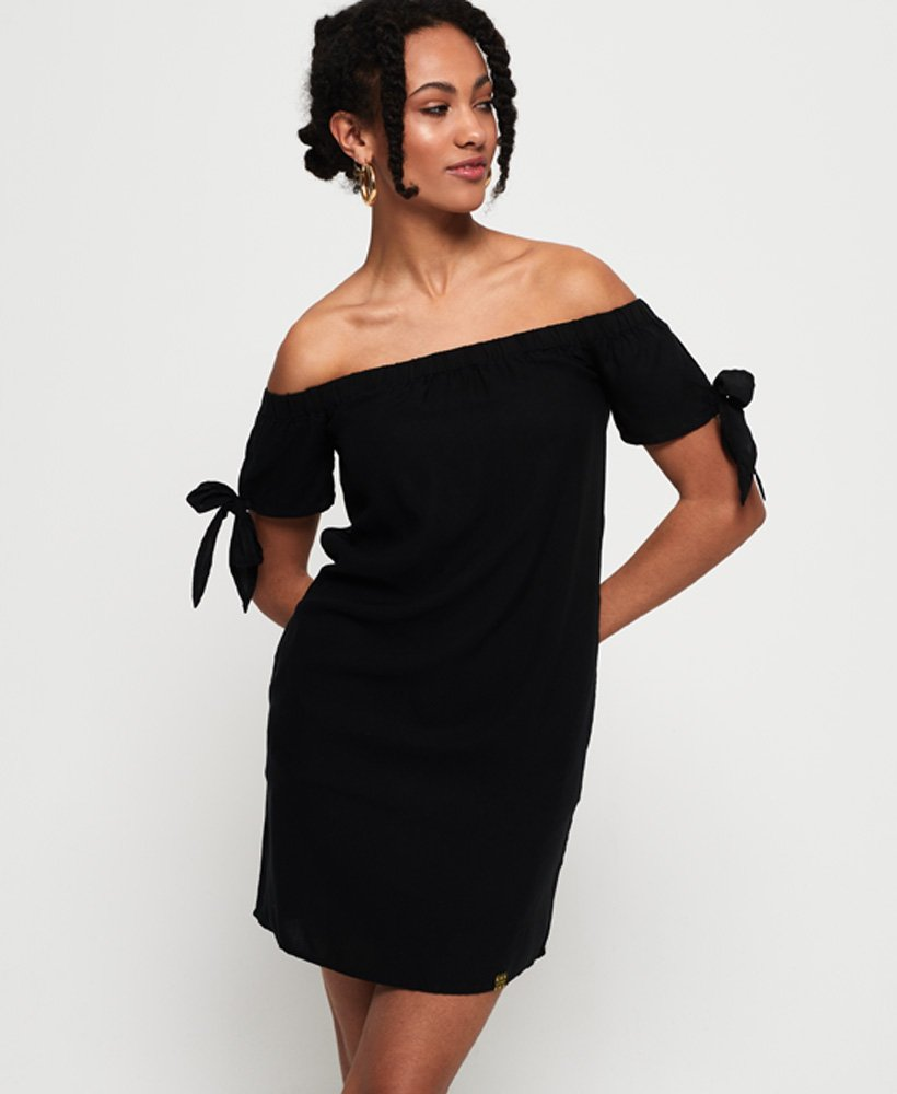 Superdry Alexia Off Shoulder Dress thumbnail 1