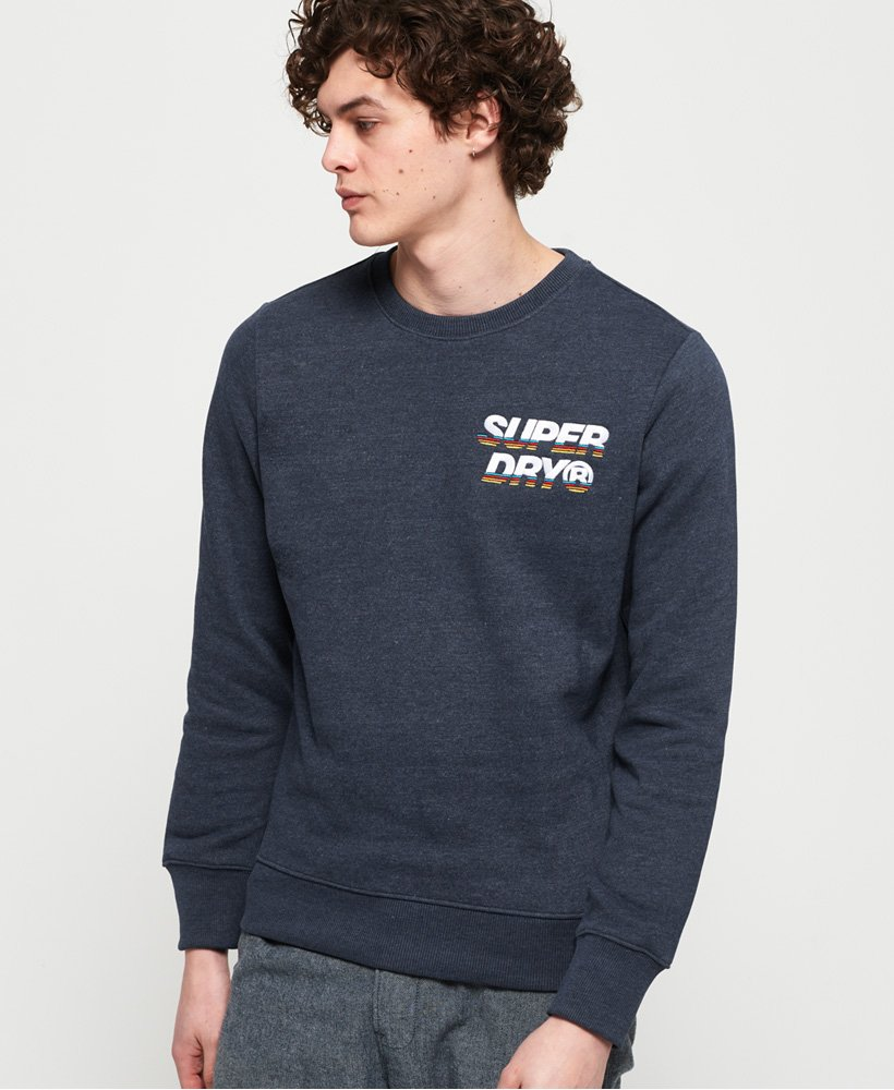 Superdry Cali Applique Logo Crew Sweatshirt thumbnail 1