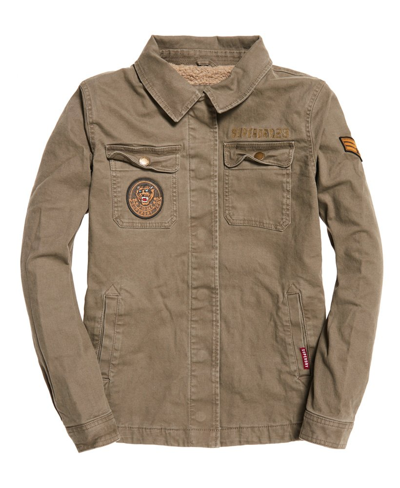 Superdry Rookie Patch Jacket thumbnail 1