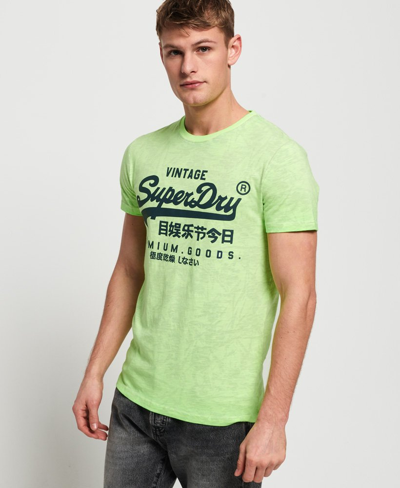 Superdry T-shirt con stampa integrale Premium Goods Mid Weight thumbnail 1