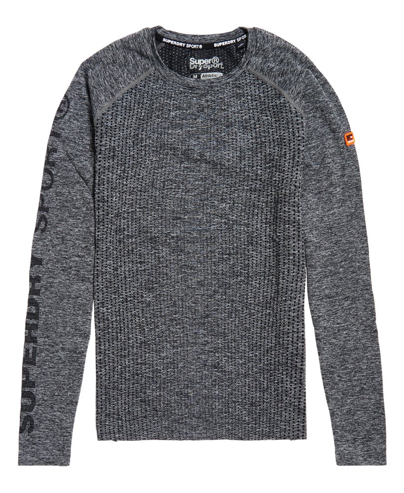 Superdry Sports Athletic Raglan Long Sleeve T-Shirt  thumbnail 1