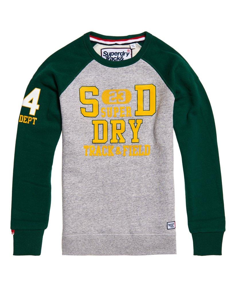 Superdry Trackster Baseball Crew Sweatshirt thumbnail 1