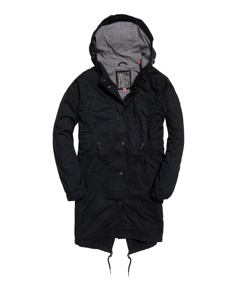Superdry Rookie Military Parka thumbnail 1