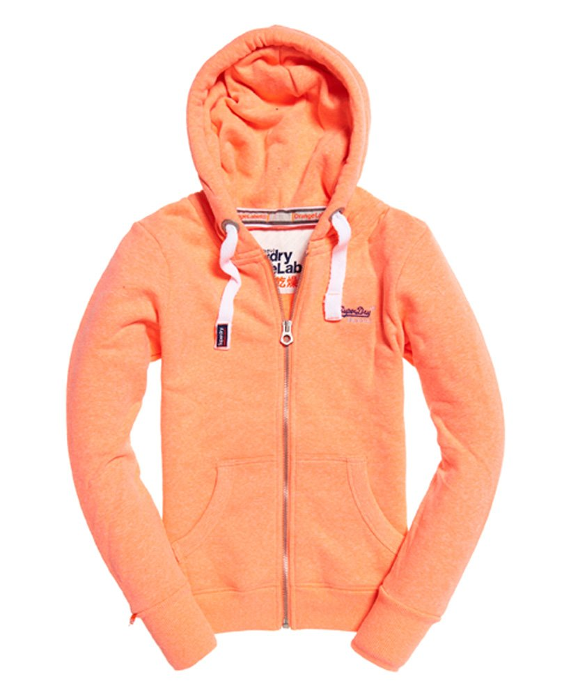 Superdry Orange Label Primary Zip hoodie thumbnail 1