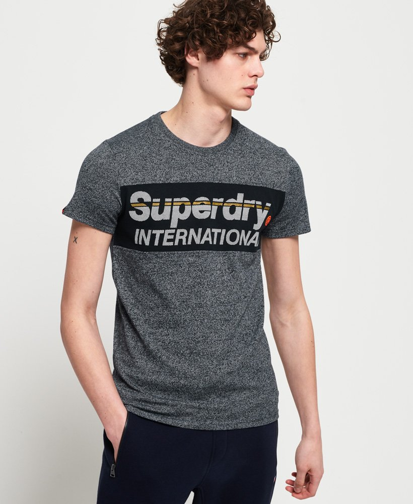 Superdry International Panel T-Shirt thumbnail 1
