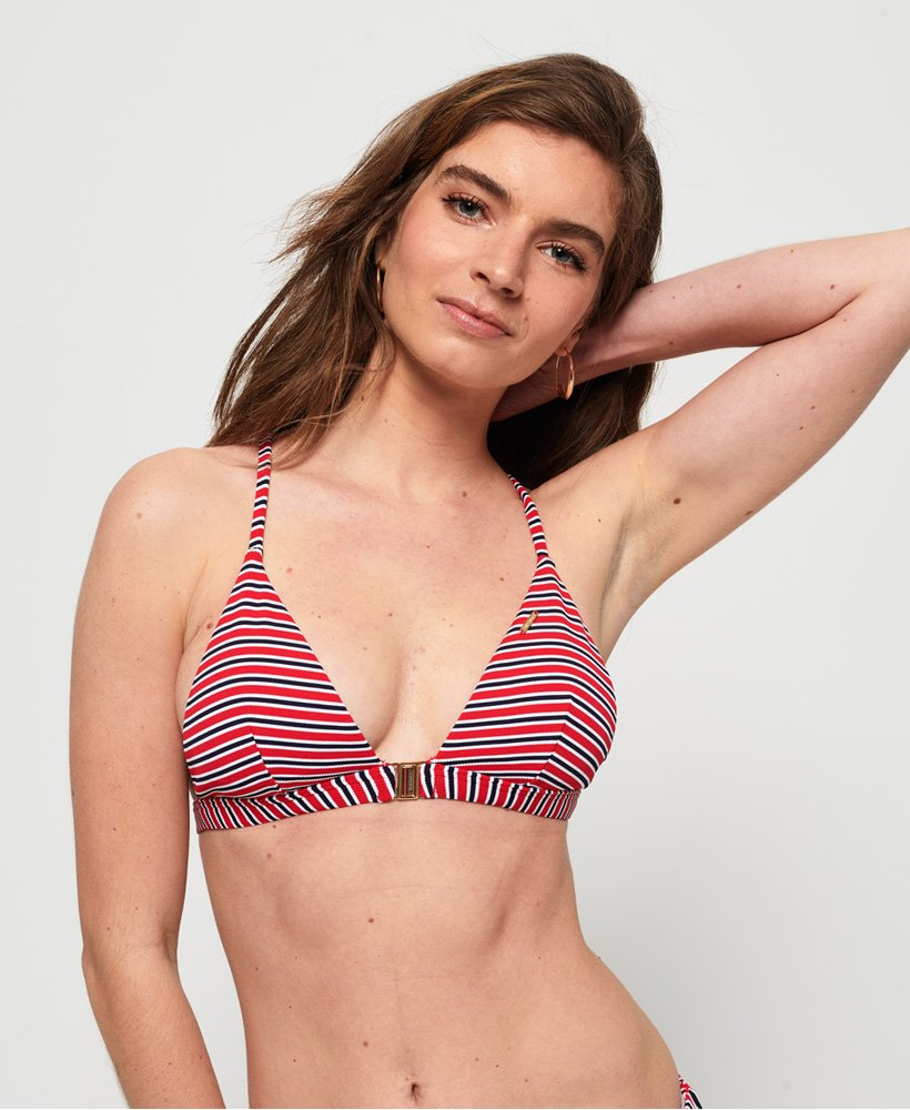 Superdry Kasey Fixed Triangle Bikini Top thumbnail 1