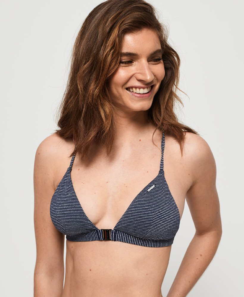 Superdry Top de bikini triangular Kasey Fixed thumbnail 1
