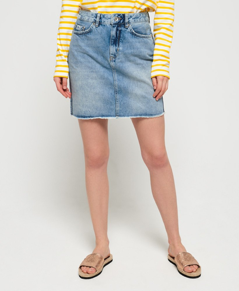 Superdry Denim Mini Skirt thumbnail 1