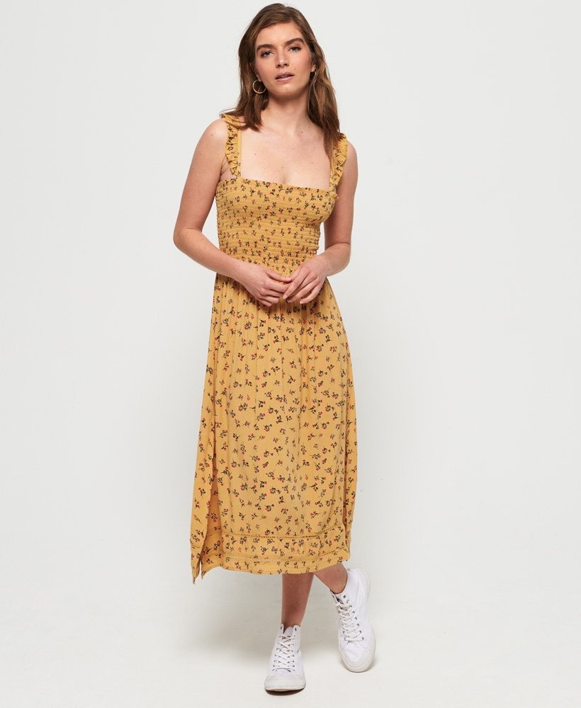 Superdry Rae Midi Dress thumbnail 1