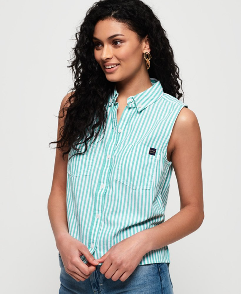 Superdry Makayla Stripe Shirt  thumbnail 1
