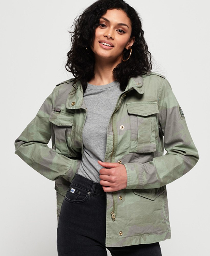 Superdry Delta Soft Camo Rookie Pocket Jacket thumbnail 1