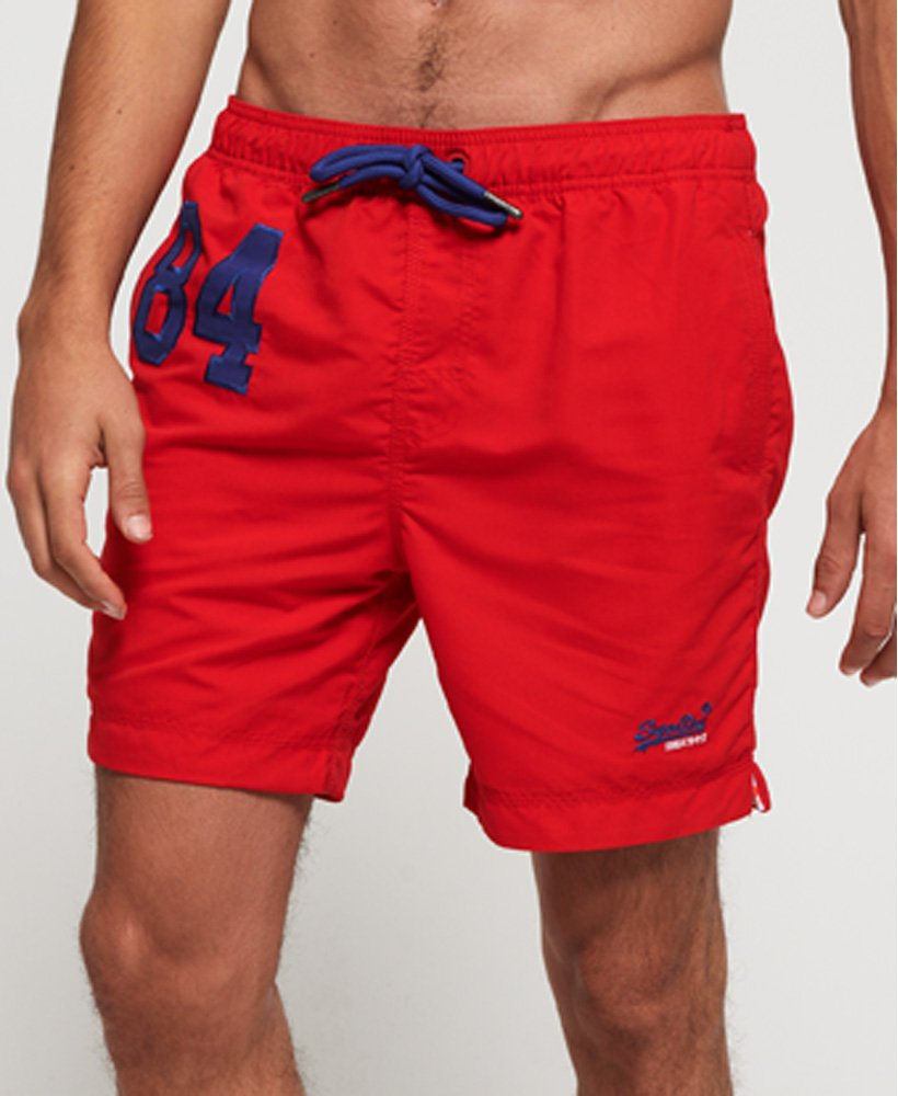Superdry Herren Water Polo Badeshorts