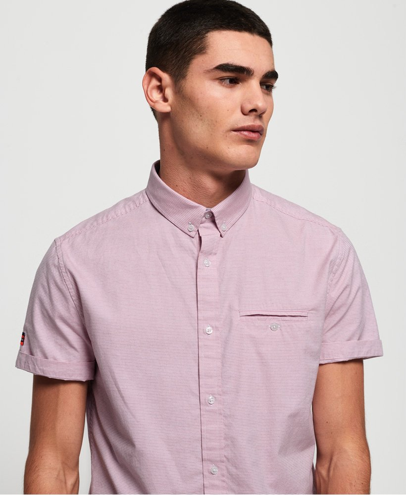 Superdry Premium University Jet Short Sleeve Shirt thumbnail 1