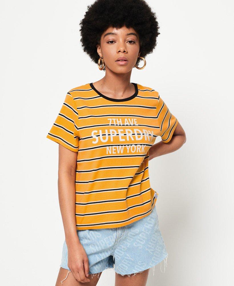 Superdry T-shirt à rayures Rae  thumbnail 1