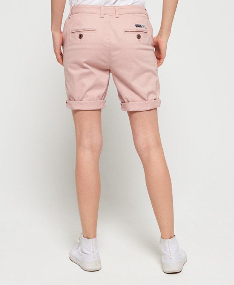 6d08b1cb9c18 Superdry Pantalones cortos chinos City - Pantalones cortos para Mujer