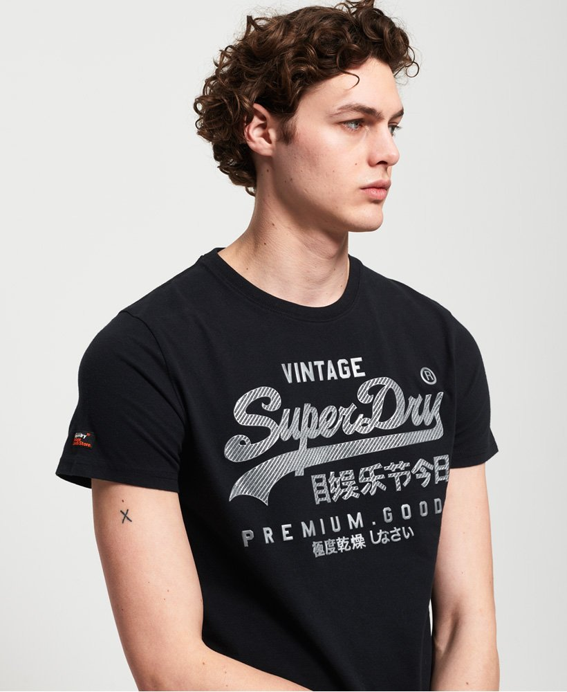 Superdry Vintage Logo Authentic Mid Weight T-Shirt thumbnail 1