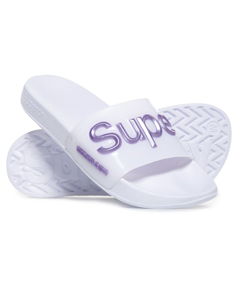 Superdry Luxe Jelly-Badesandalen thumbnail 1