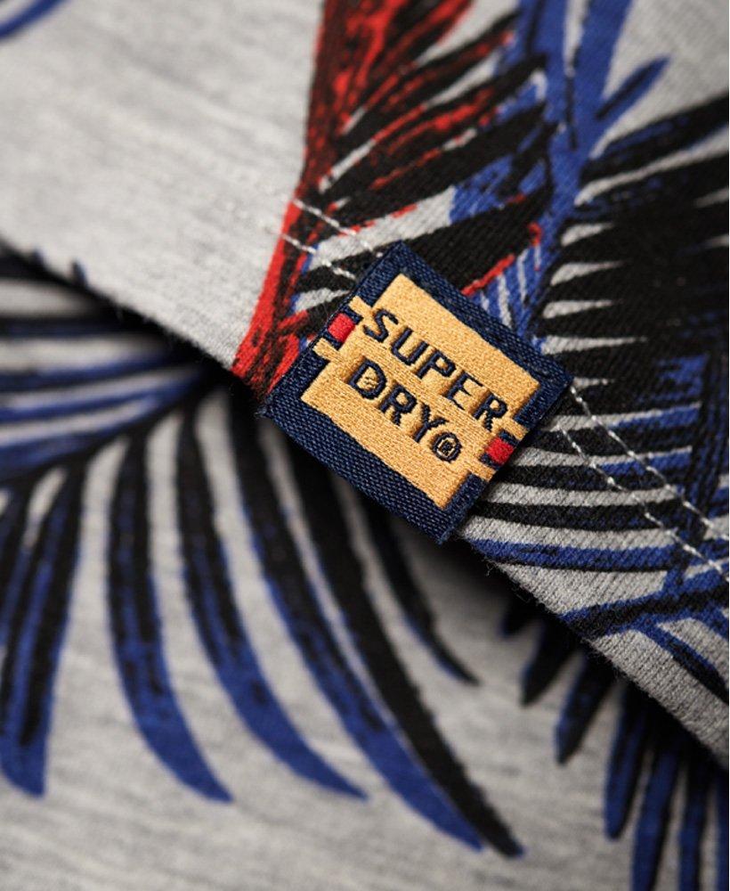 Superdry Spódnica ołówkowa blue