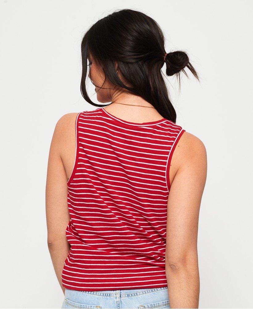 2a05f2b5922c Γυναικεία - Αμάνικο Μπλουζάκι Scandi με Κόμπο σε κόκκινο Festive ...
