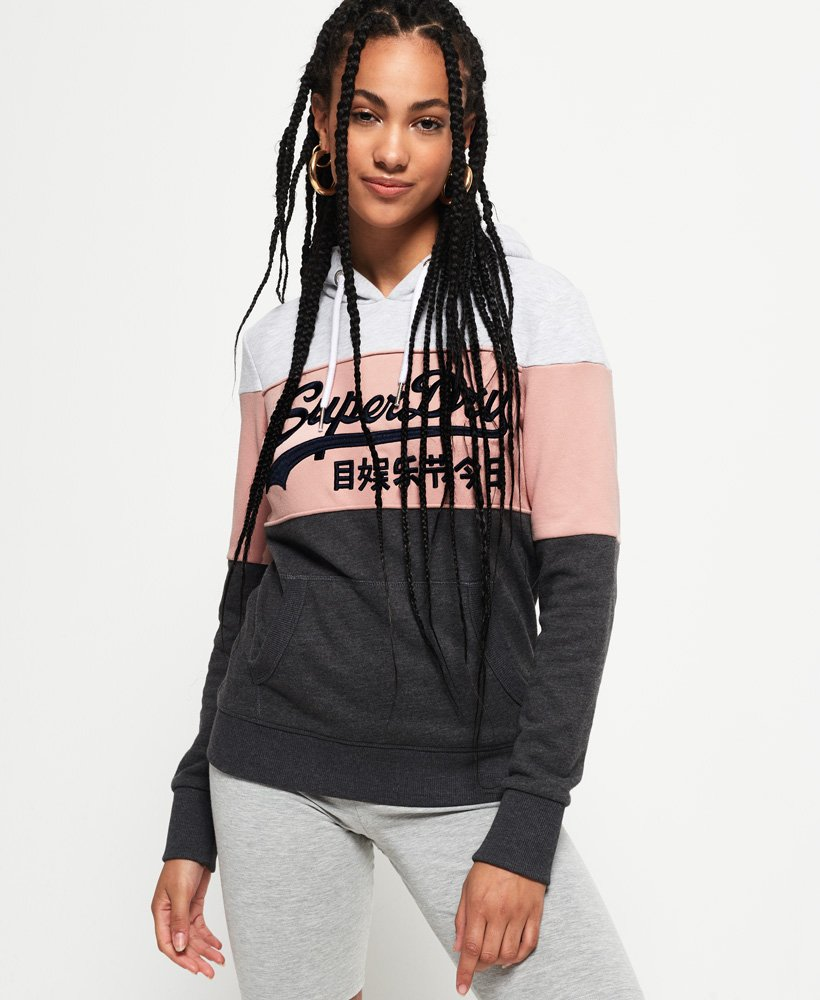 Superdry Vintage Logo High Build Embroidered Hoodie  thumbnail 1