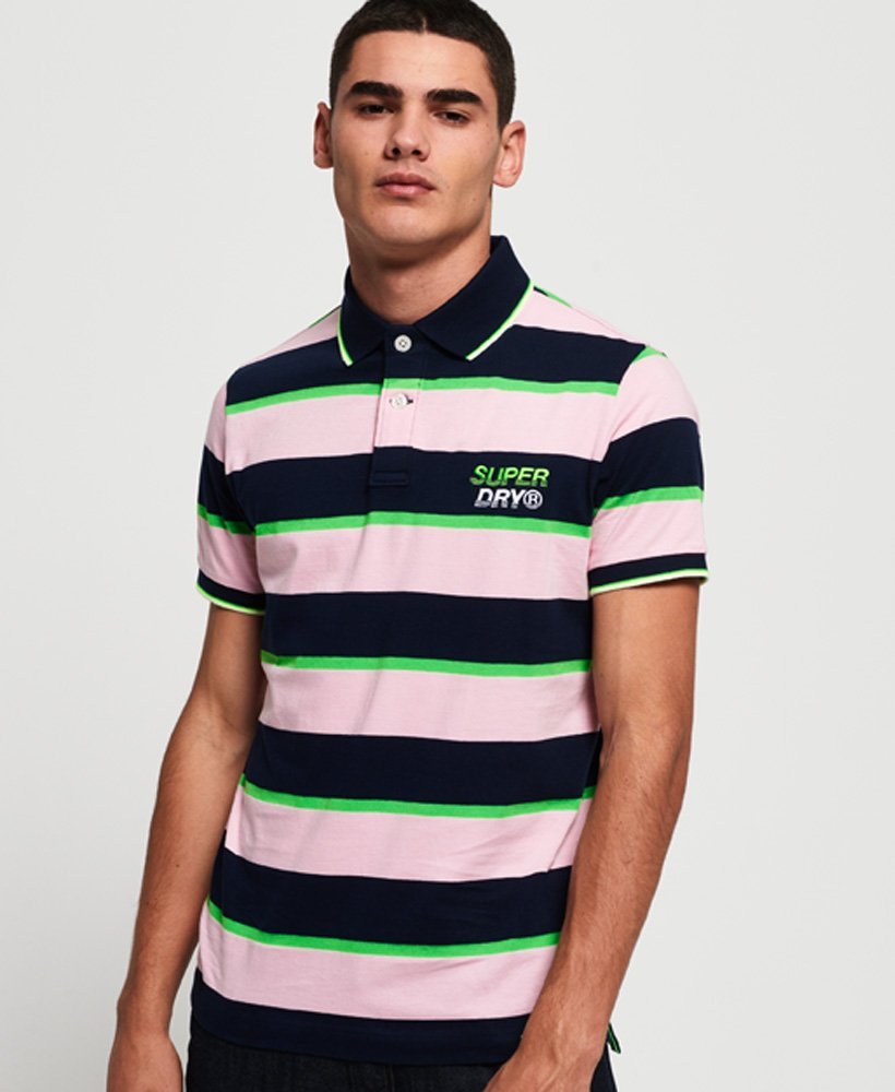 Superdry Skate Luxe Polo Shirt  thumbnail 1