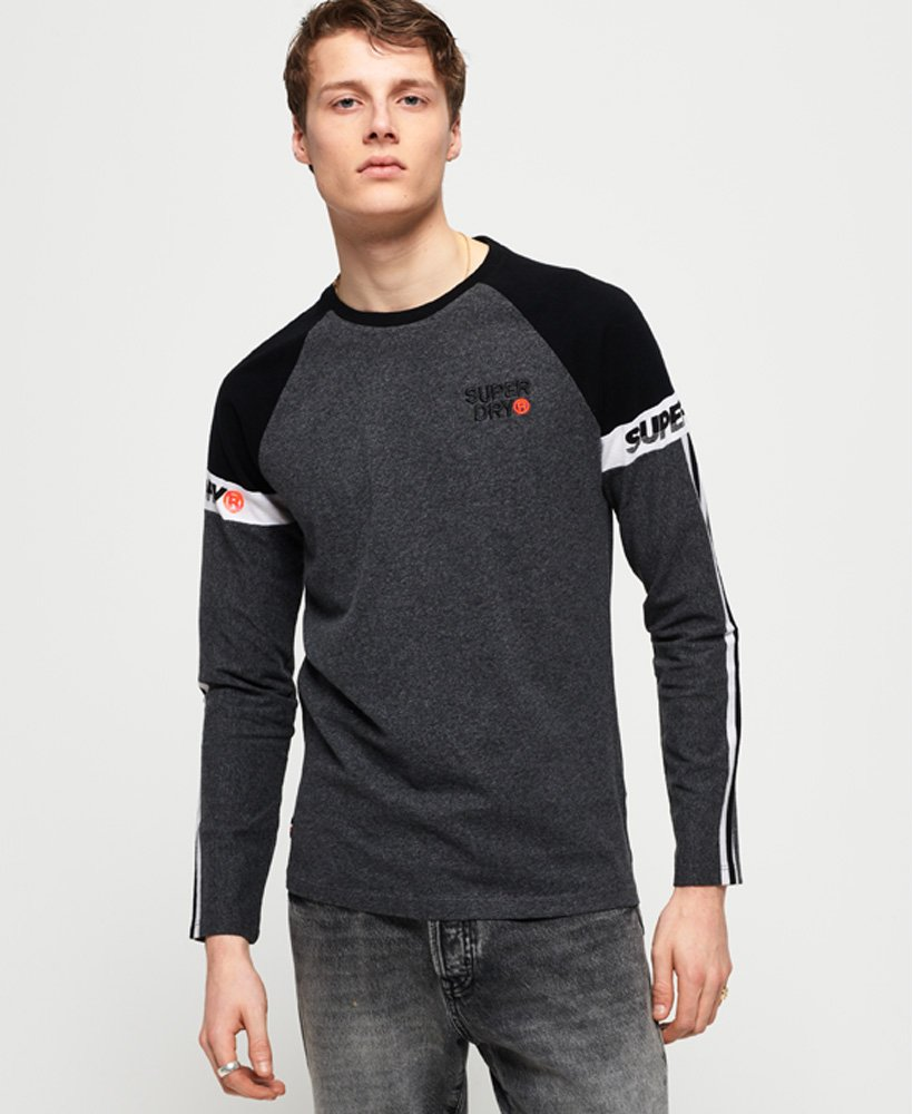 Superdry Stacked Moto Label T-Shirt thumbnail 1