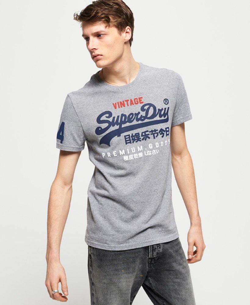 Superdry Premium Goods Tri T-Shirt thumbnail 1