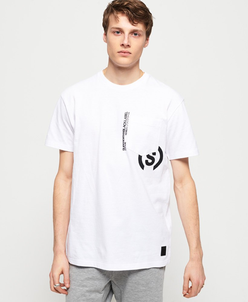 Superdry Black Label Edition Boxy Pocket T-Shirt thumbnail 1