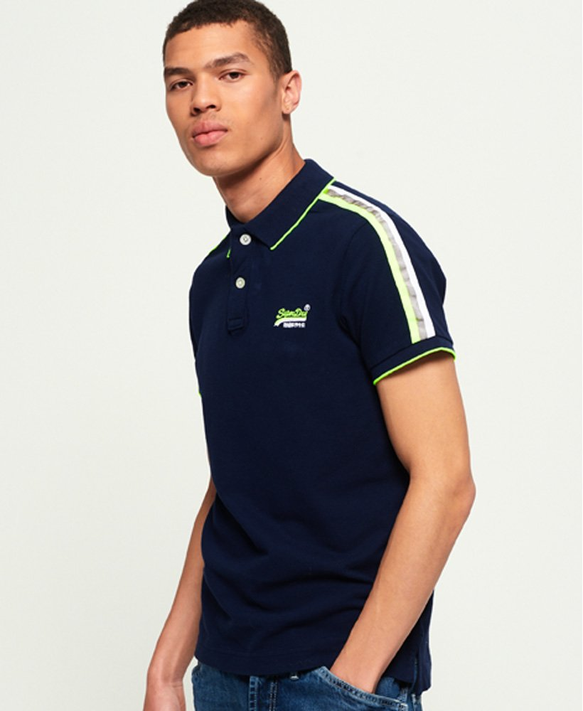 Superdry Team Sports Cali Polo Shirt thumbnail 1