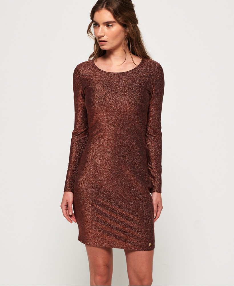 Superdry Mia Shimmer Dress thumbnail 1