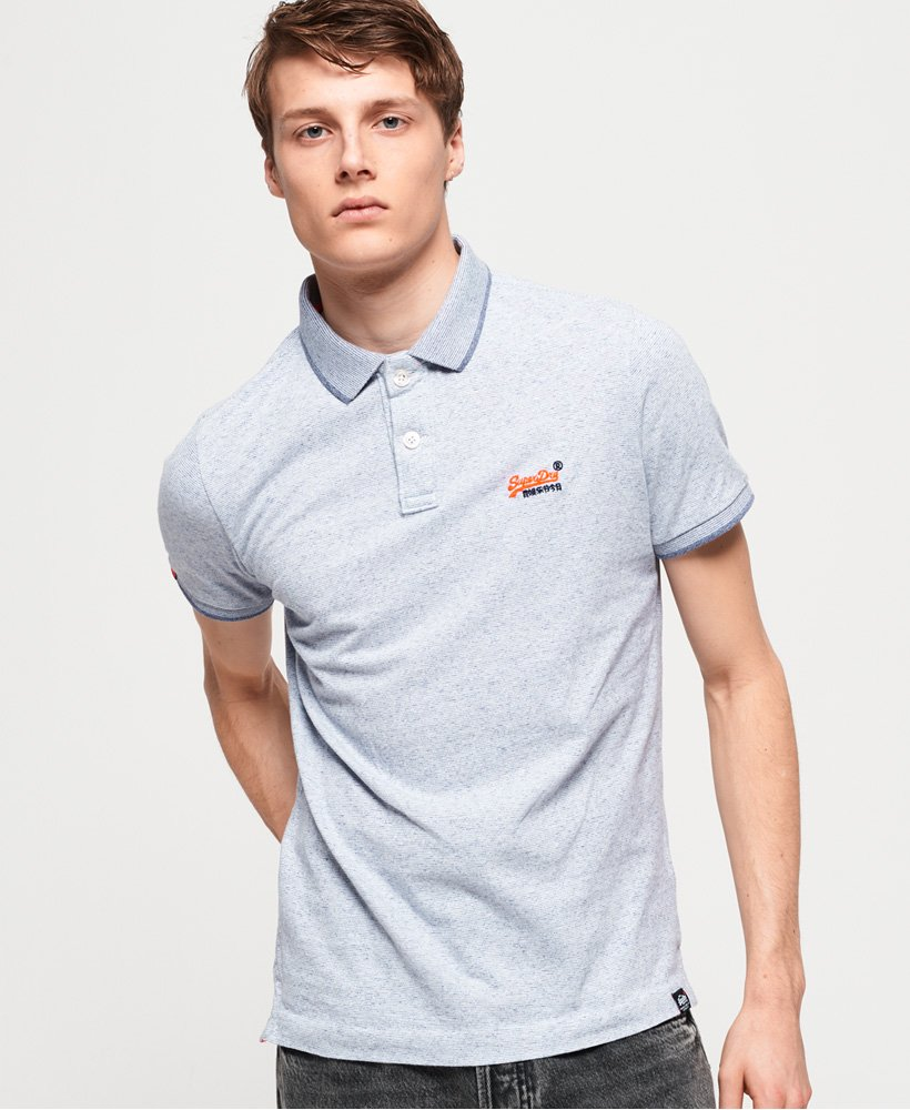 Superdry Orange Label Jersey Polo Shirt thumbnail 1