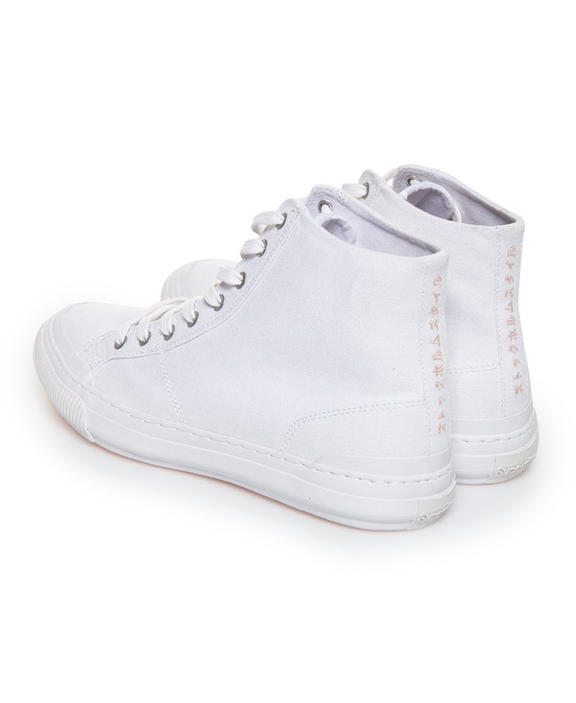 superdry high top trainers