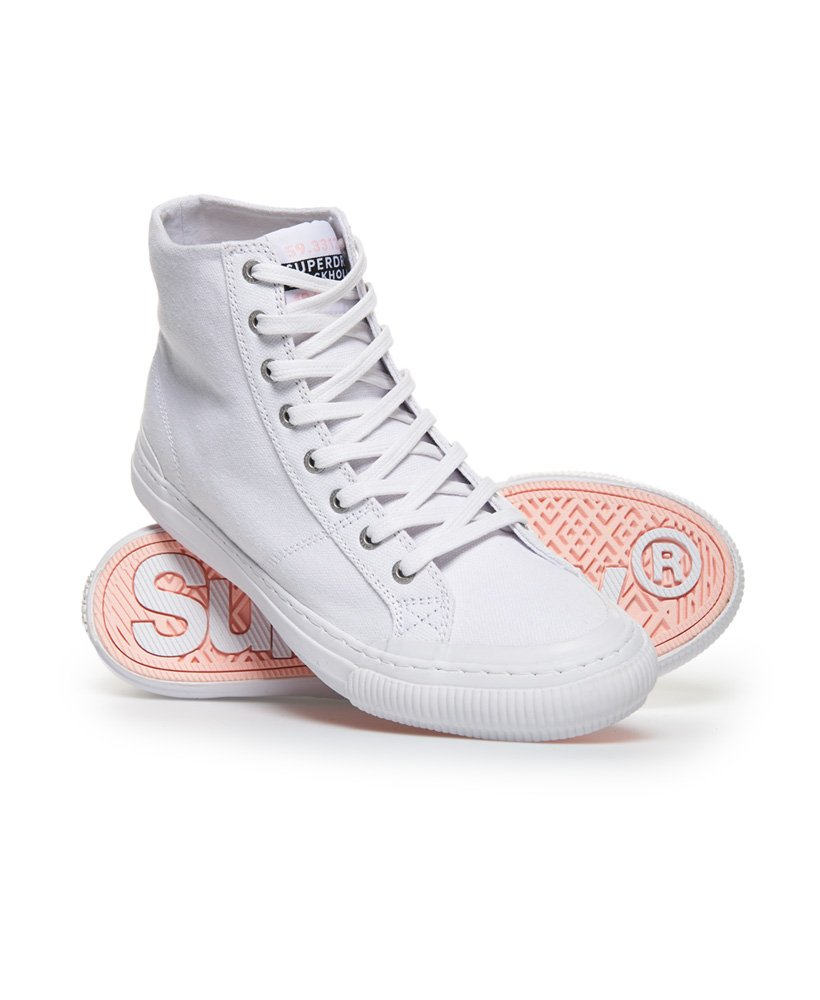 Superdry Pacific High Top Trainers thumbnail 1