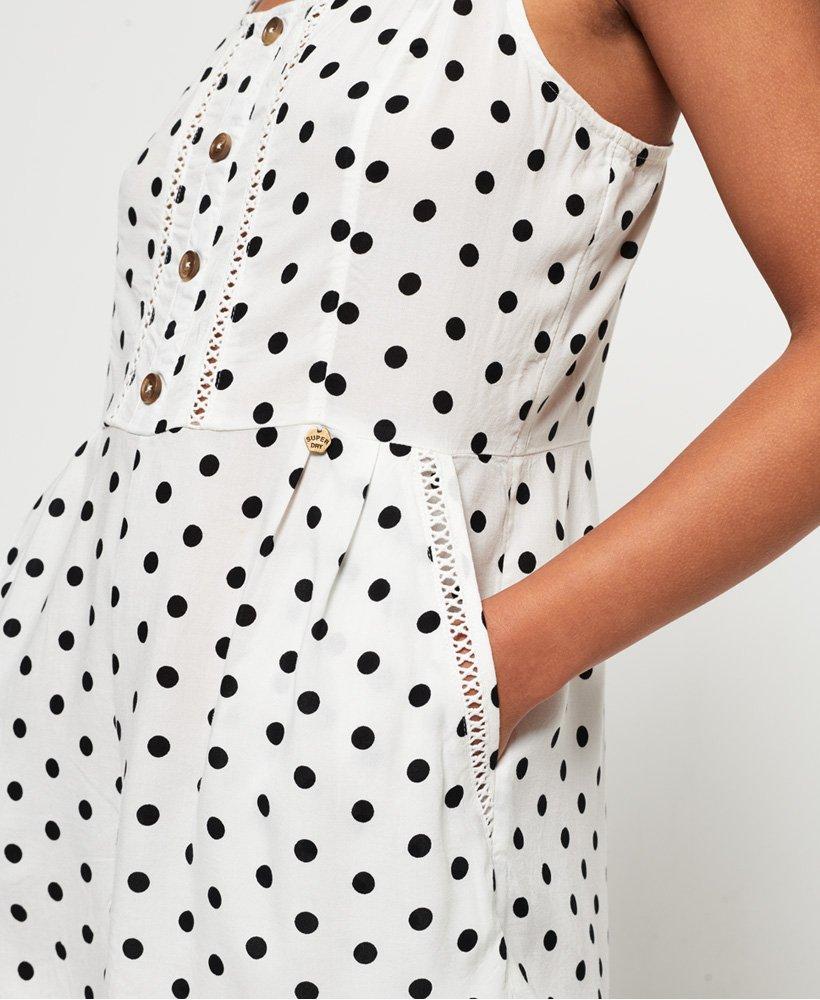 Superdry Lillie Playsuit Damen Kleider