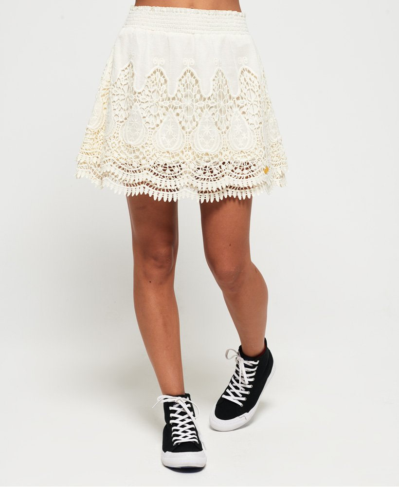 Superdry Amanda Lace Skirt thumbnail 1