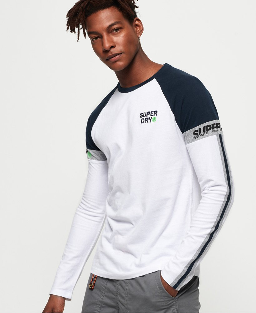 Superdry T-shirt Stacked Moto Label thumbnail 1